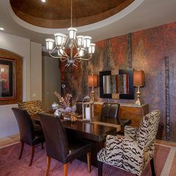 Paradise Valley Dining Room Interior Design